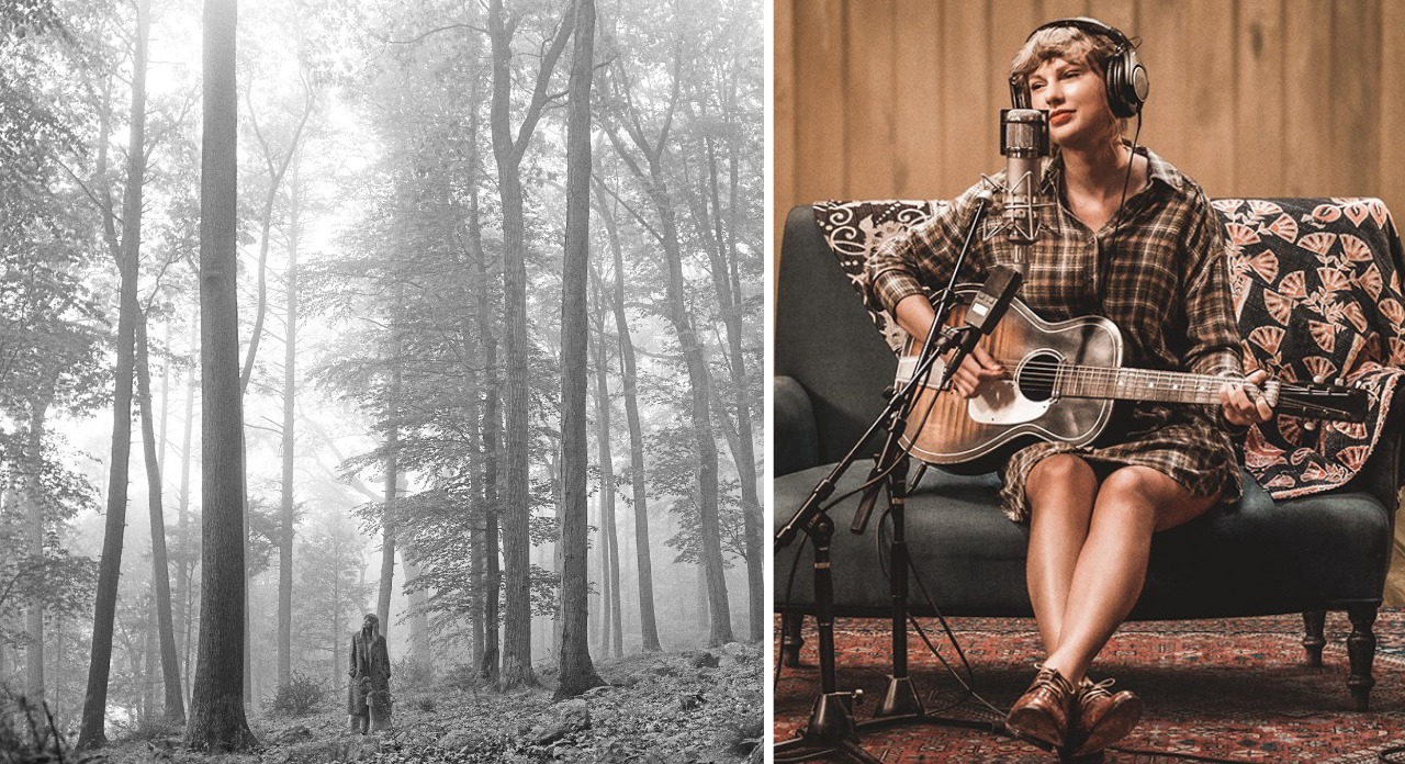 Folklore - Taylor Swift - Melhores álbuns musicais de 2020