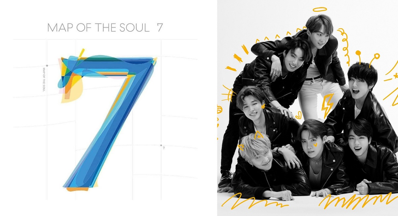 Map Of The Soul: 7 - BTS (Melhores álbuns musicais de 2020)