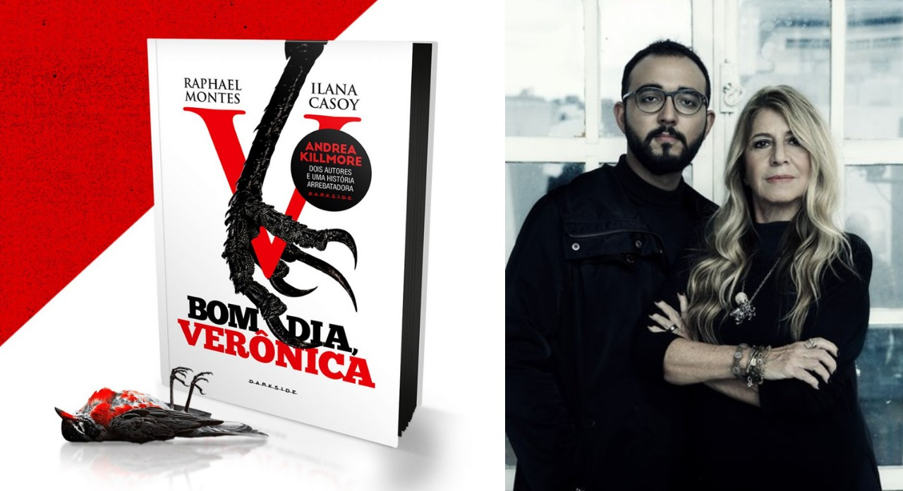 Ilana Casoy e Raphael Montes