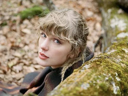 A cantora Taylor Swift em sua nova era