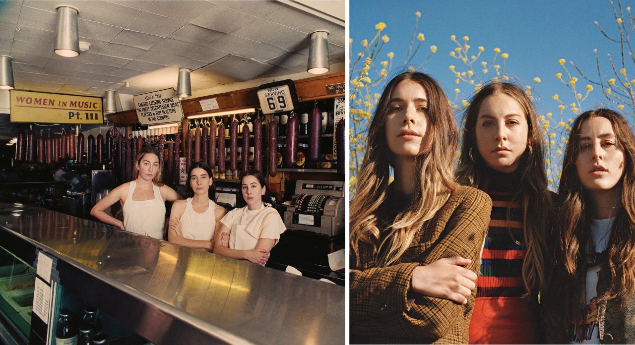 Women in Music Pt III - HAIM (Melhores álbuns de 2020)