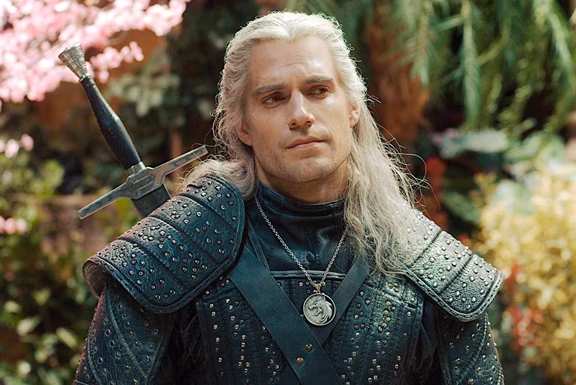 Geralt de Rivia em The Witcher. Imagem: Netflix