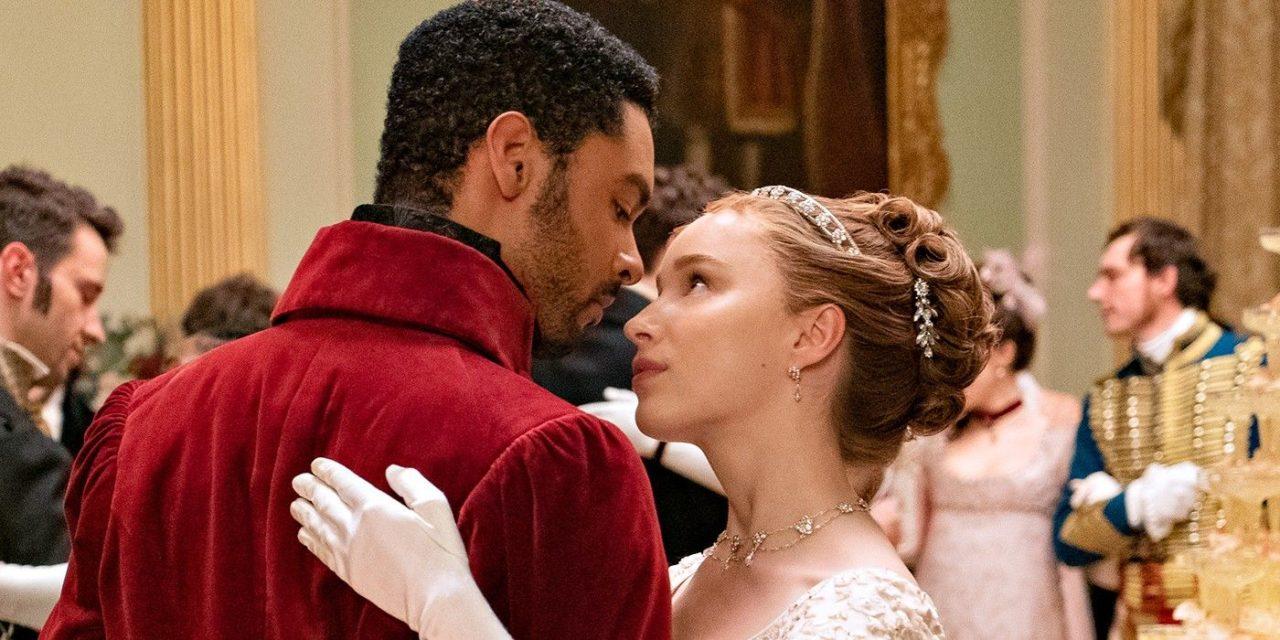"""Daphne e o duque em """"Bridgerton"""""""