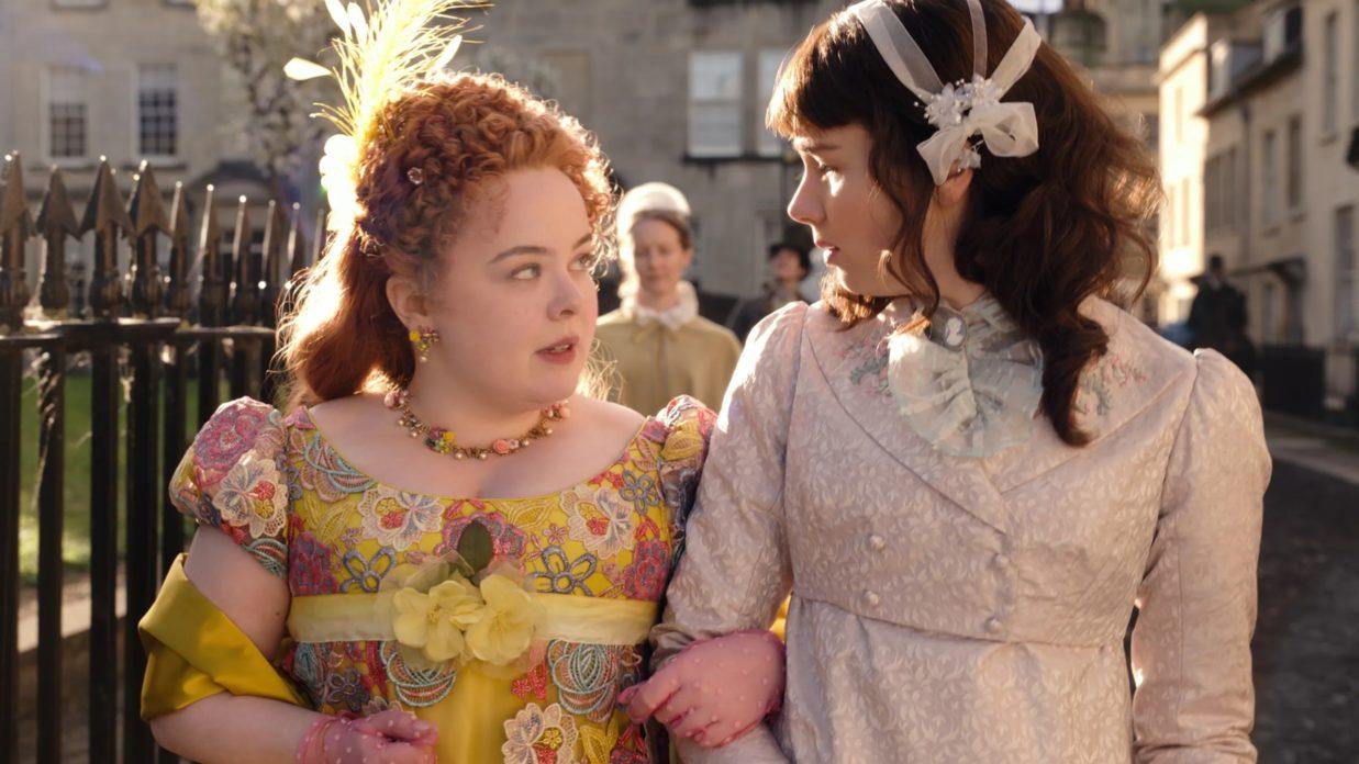 Penelope Featherington e Eloise Bridgerton