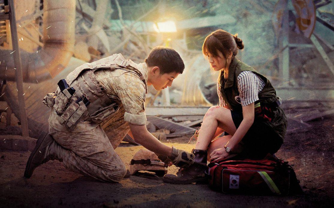 drama coreano Descendentes do Sol (2016)