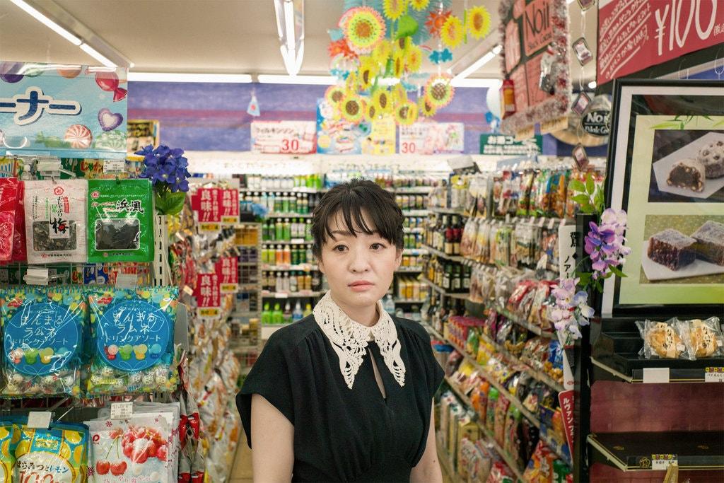 A autora Sayaka Murata