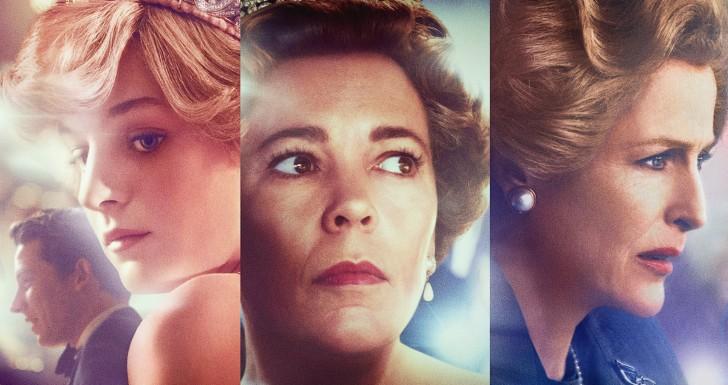 The Crown - séries influentes da Netflix