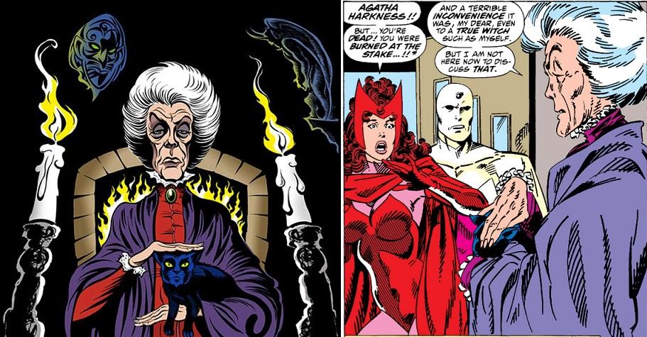 Será que Agnes é a feiticeira Agatha Harkness?