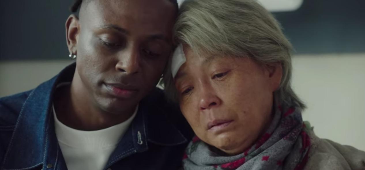Toni e sua avó em Itaewon Class