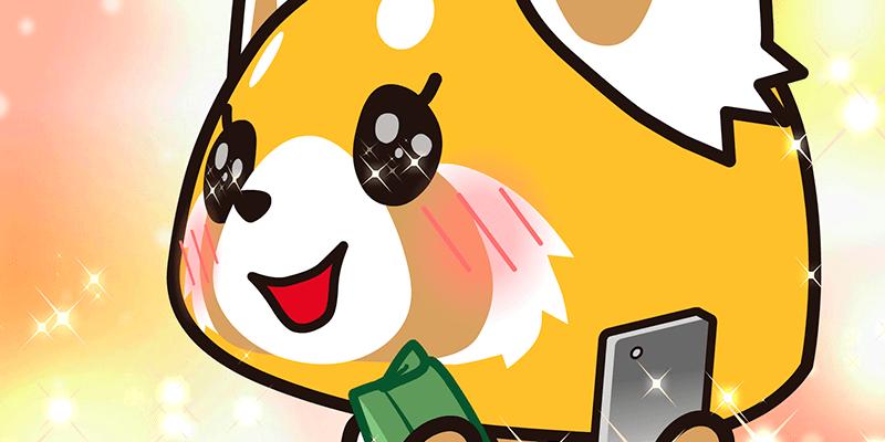 Retsuko, a simpática raposinha de Aggretsuko