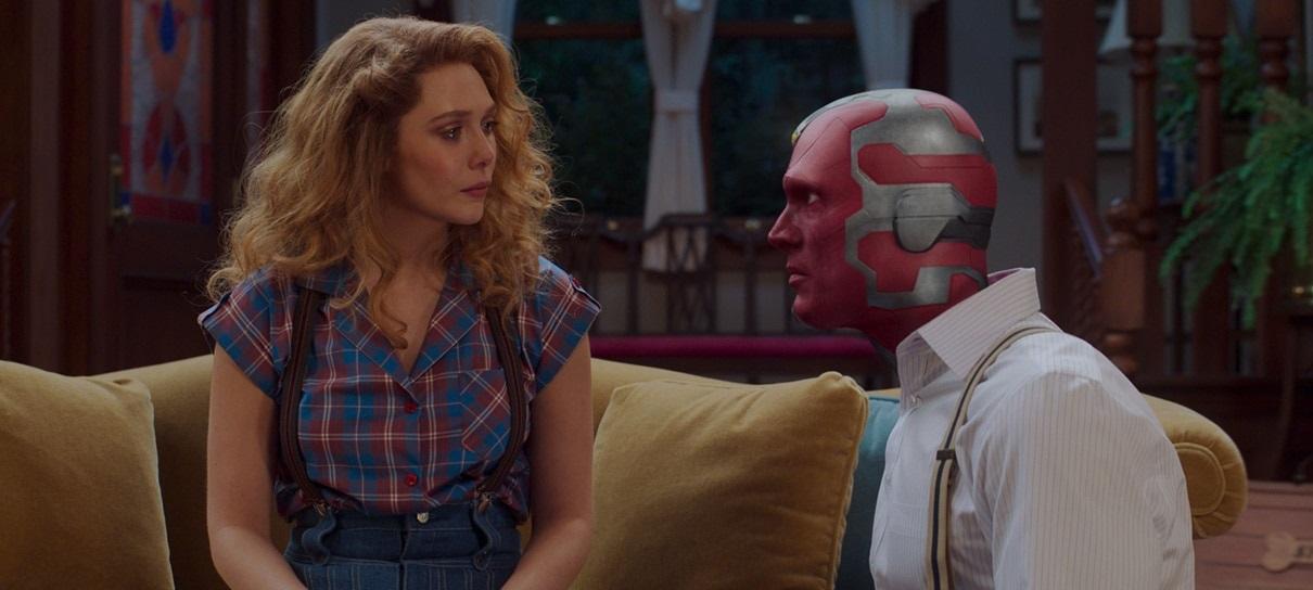 Wanda e Visão no quinto episódio