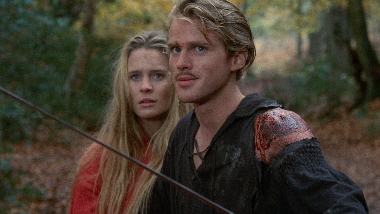 Buttercup (Robin Wright) e Westley (Cary Elwes).