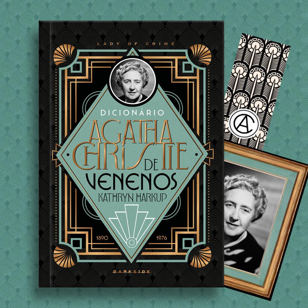 Dicionário Agatha Christie de Venenos, da autora Kathryn Harkup.
