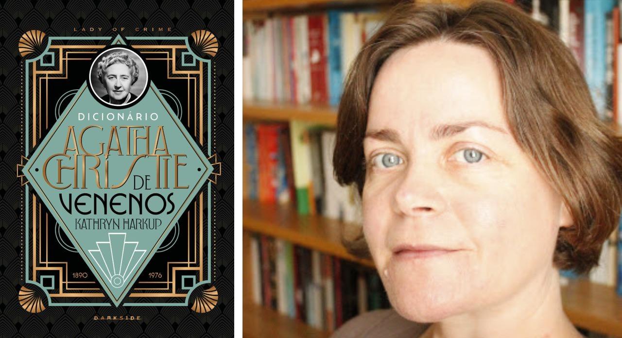Dicionário Agatha Christie de Venenos, um lançamento da Darkside Books.
