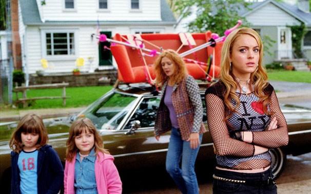 """Lindsay Lohan como Lola em """"Confissões de uma adolescente em crise"""""""