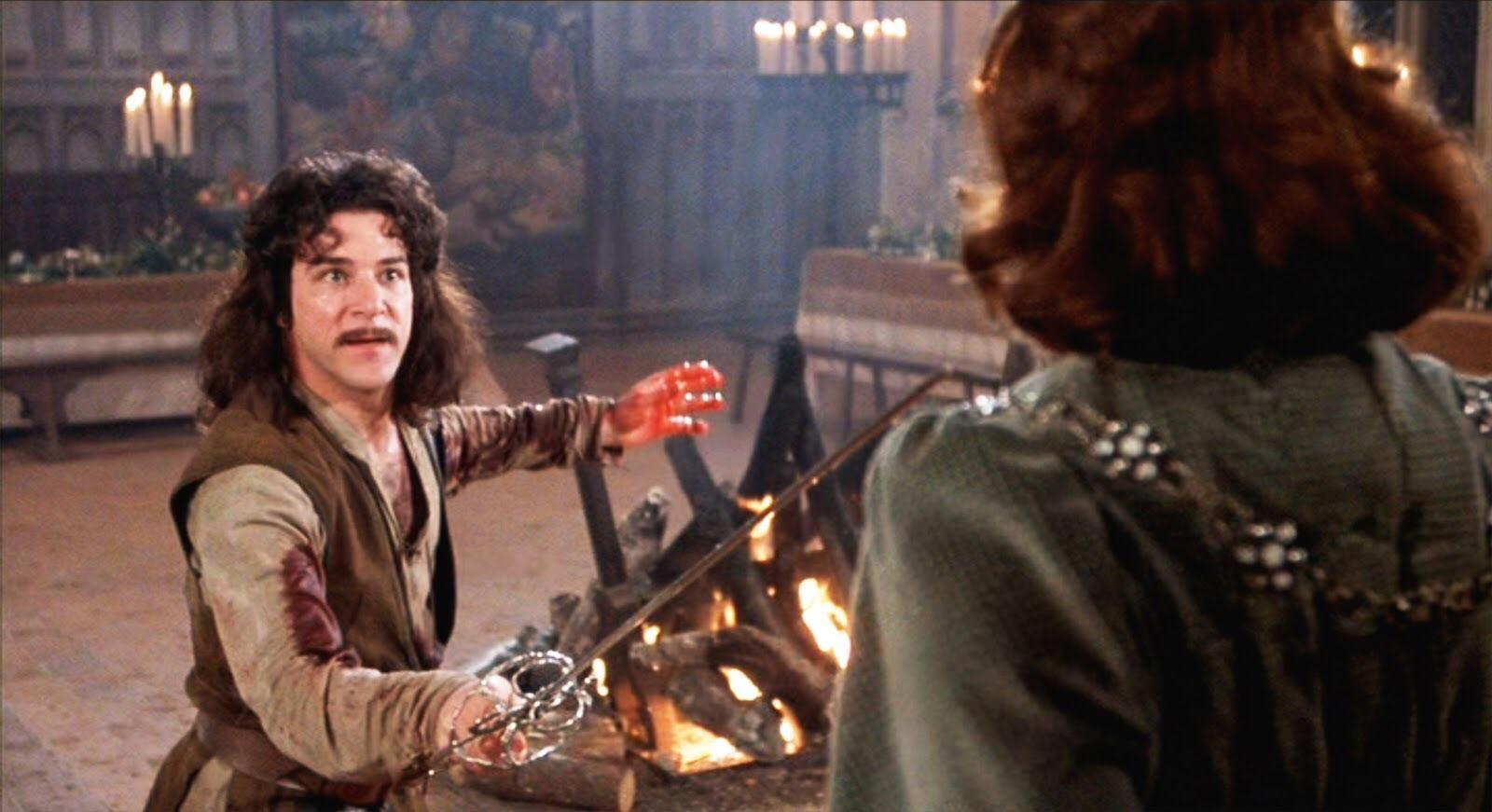 Inigo Montoya (Mandy Patinkin) em A Princesa Prometida