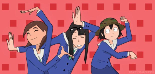 """""""Keep Your Hands Off Eizouken!"""" é um anime sobre animes"""