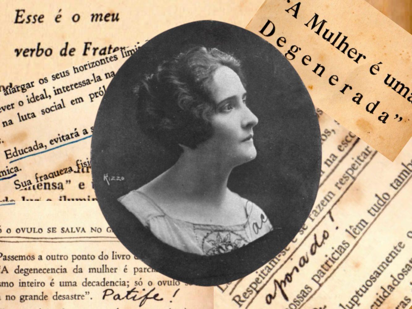 A mulher é uma degenerada: a atualidade na obra de Maria Lacerda de Moura