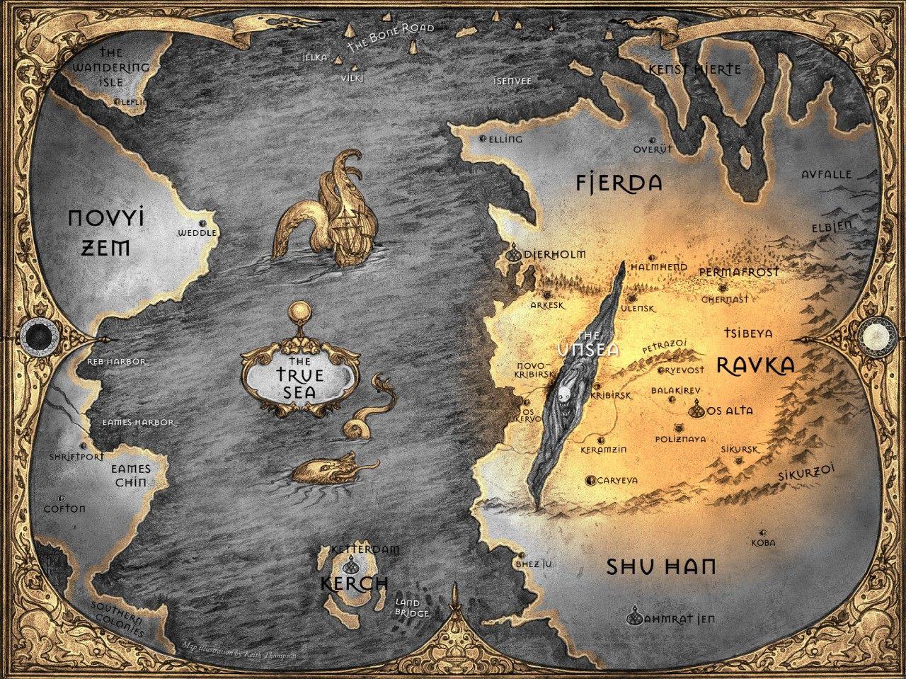 Mapa de Leigh Bardugo