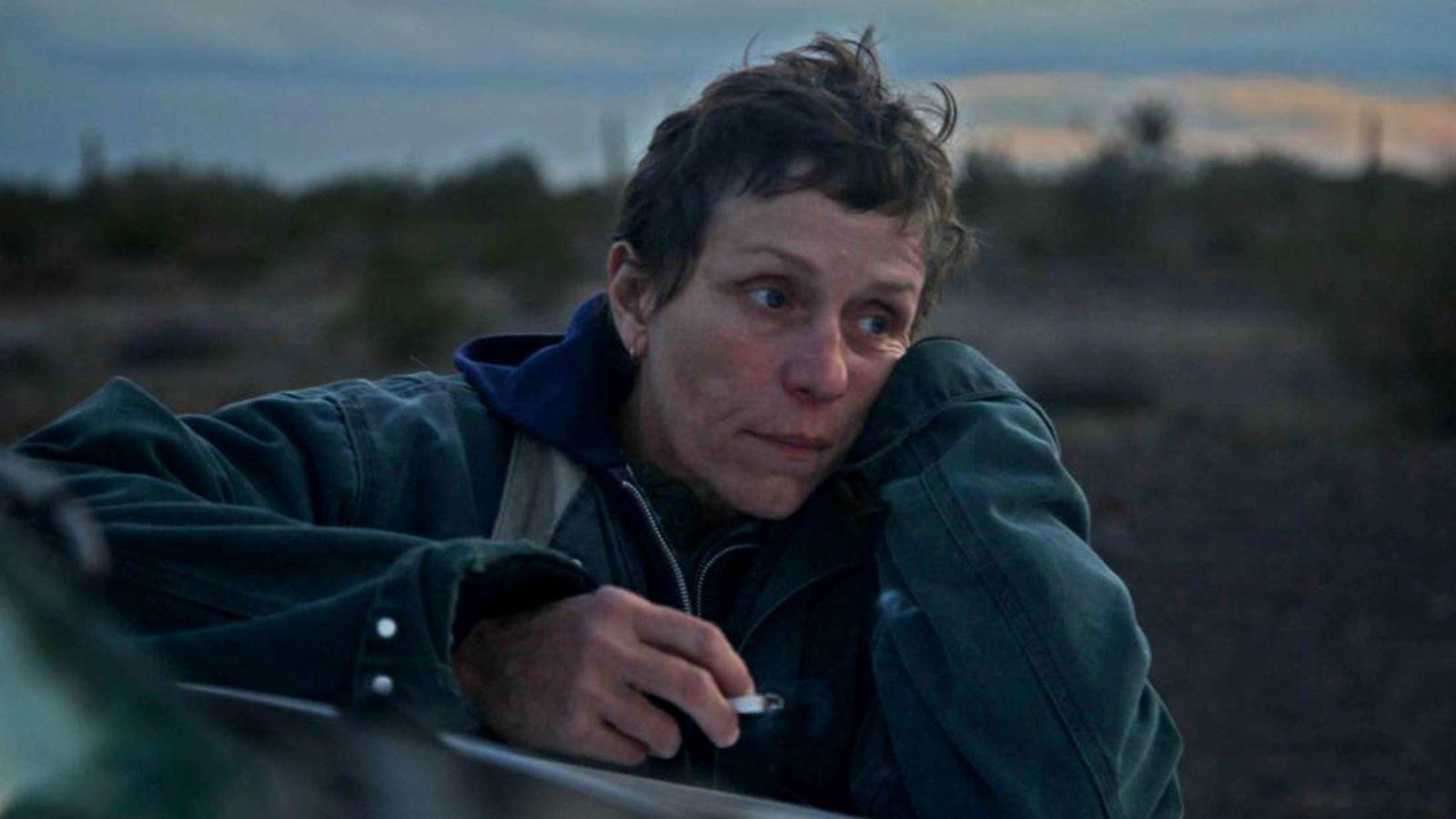 Fern (Frances McDormand) em Nomadland