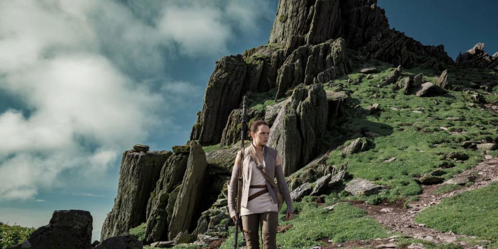 Ahch-To, um dos planetas em Star Wars