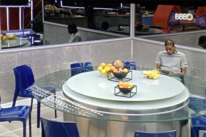 Cena de Lucas Penteado no BBB21