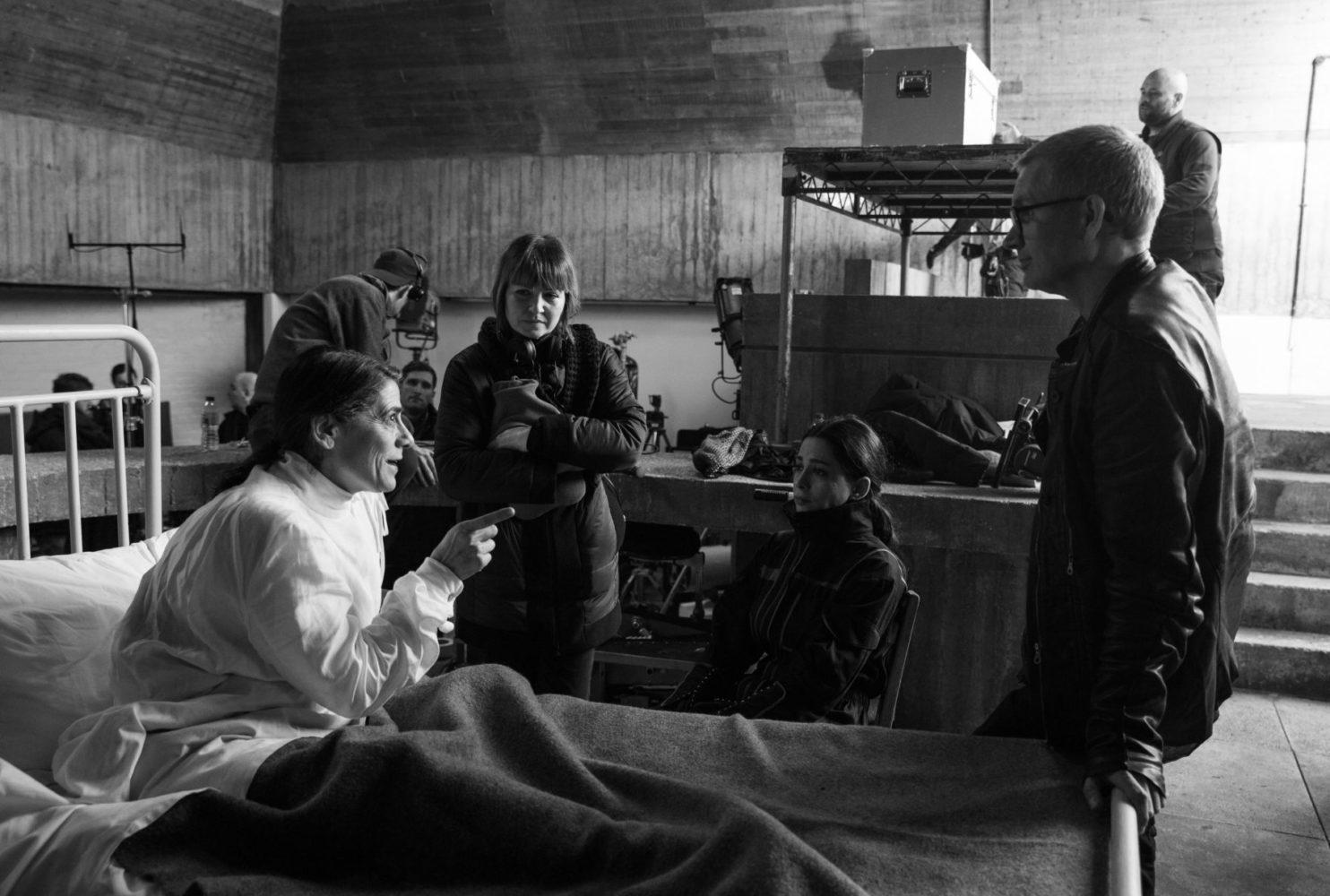 "Bastidores da filmagem de ""In Vitro"" (Palestina, 2019)"