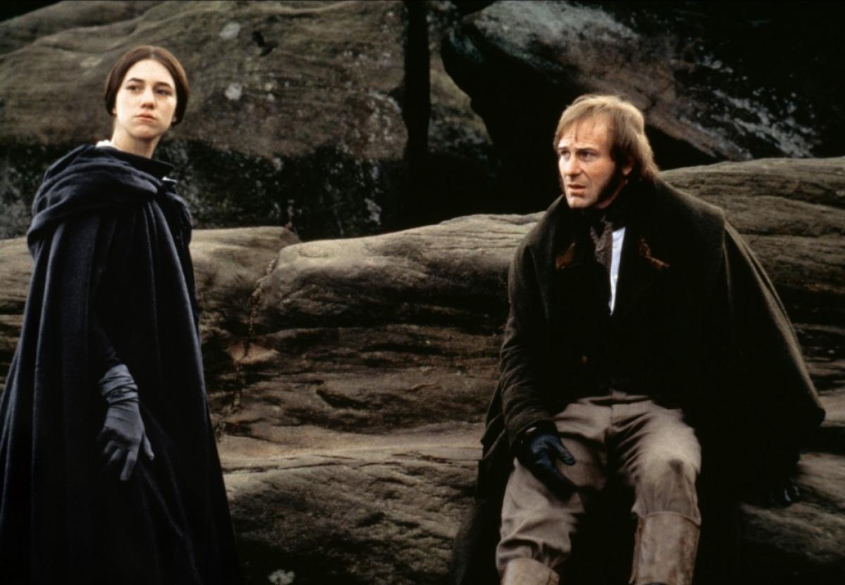 Adaptação de Jane Eyre (1996), dirigida por Franco Zeffirelli, com roteiro de Hugh Whitemore e Zeffirelli.