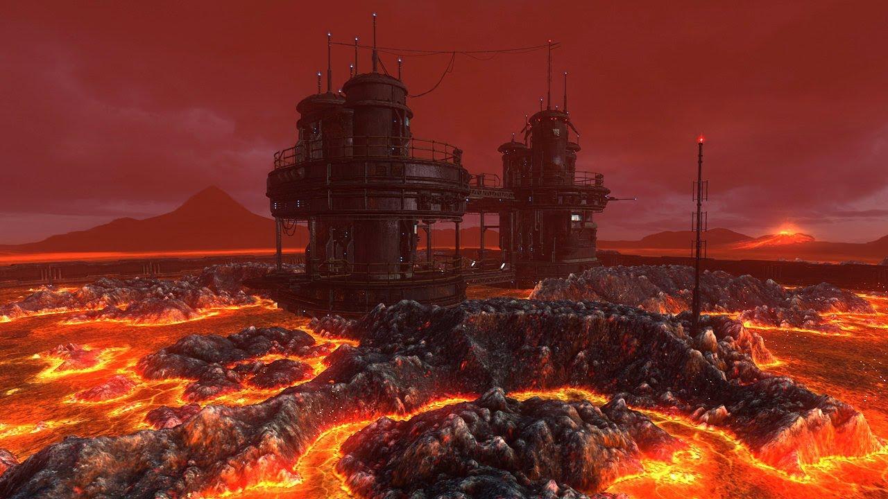 Mustafar, planetas em Star Wars