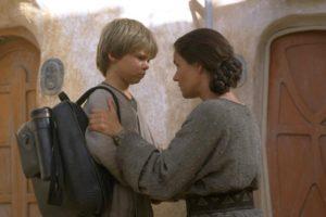 Shmi e Anakin Skywalker
