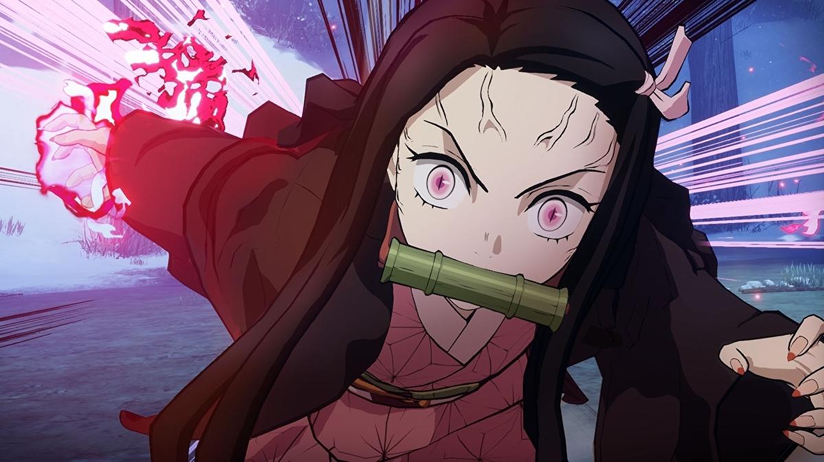 Nezuko em Demon Slayer