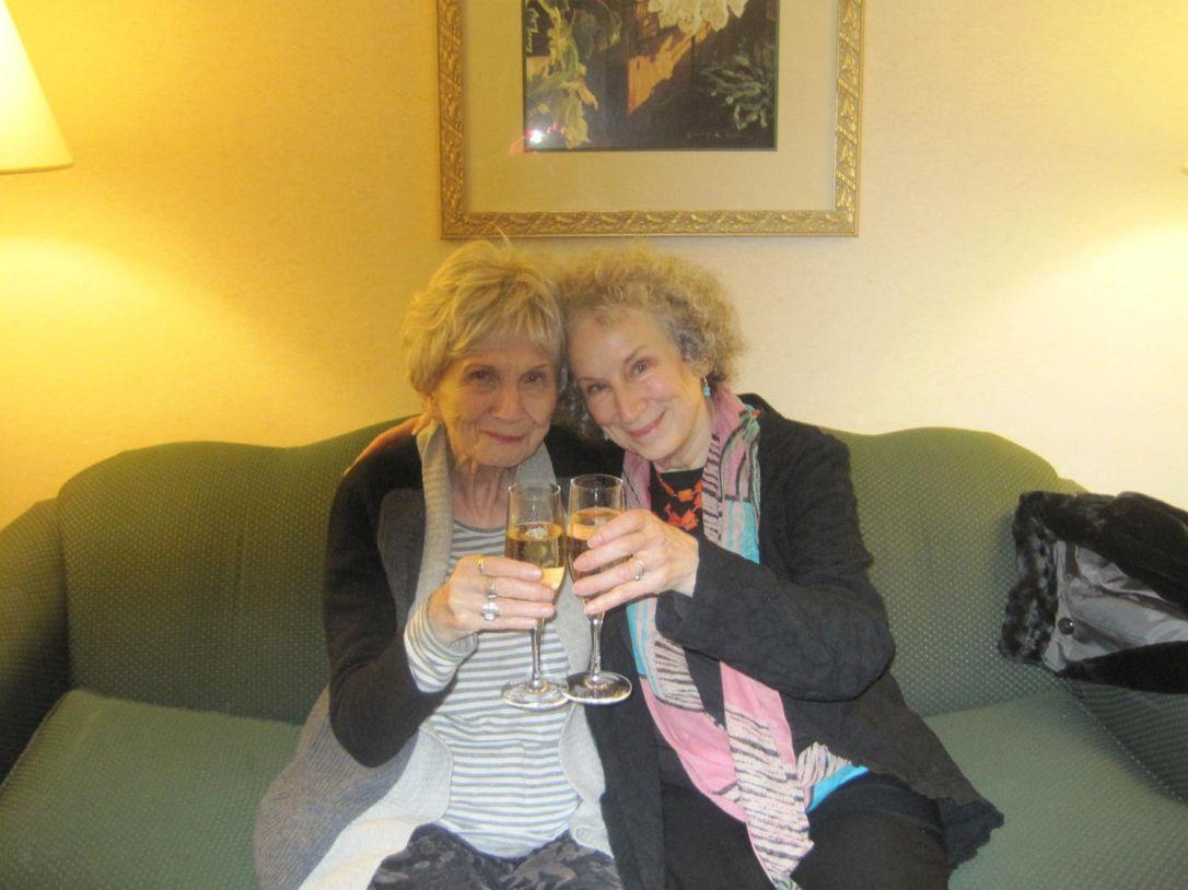 Alice Munro e Margaret Atwood