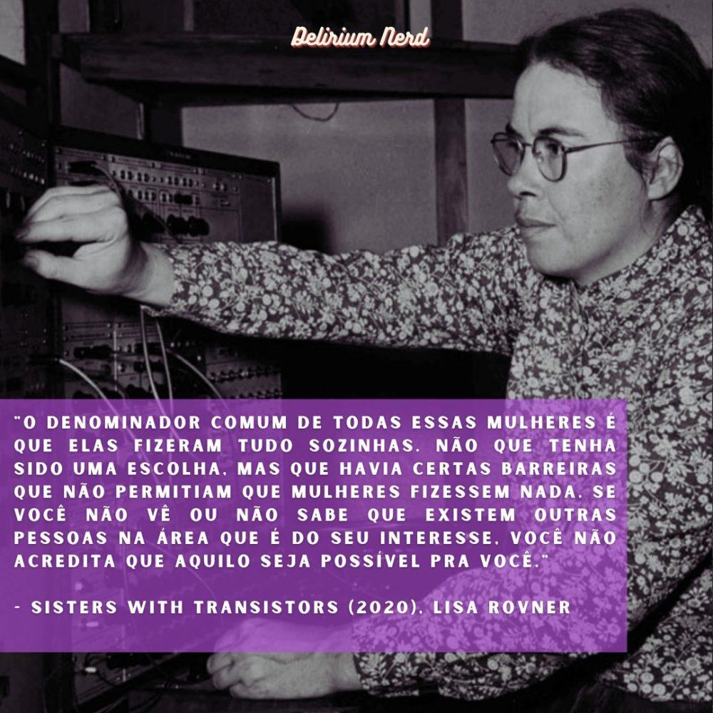 """Trecho do documentário """"Sisters with Transistors"""", de Lisa Rovner. Na imagem: a compositora Pauline Oliveros"""