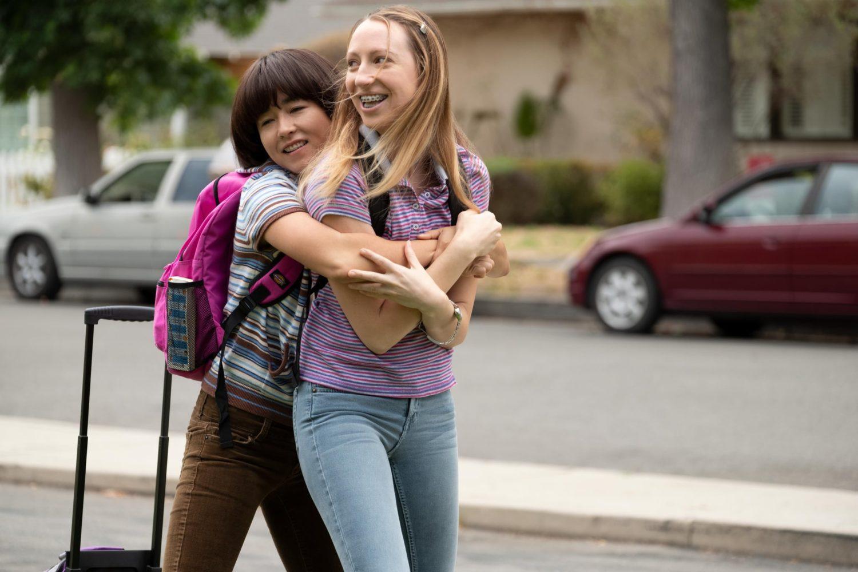 amizade feminina em séries
