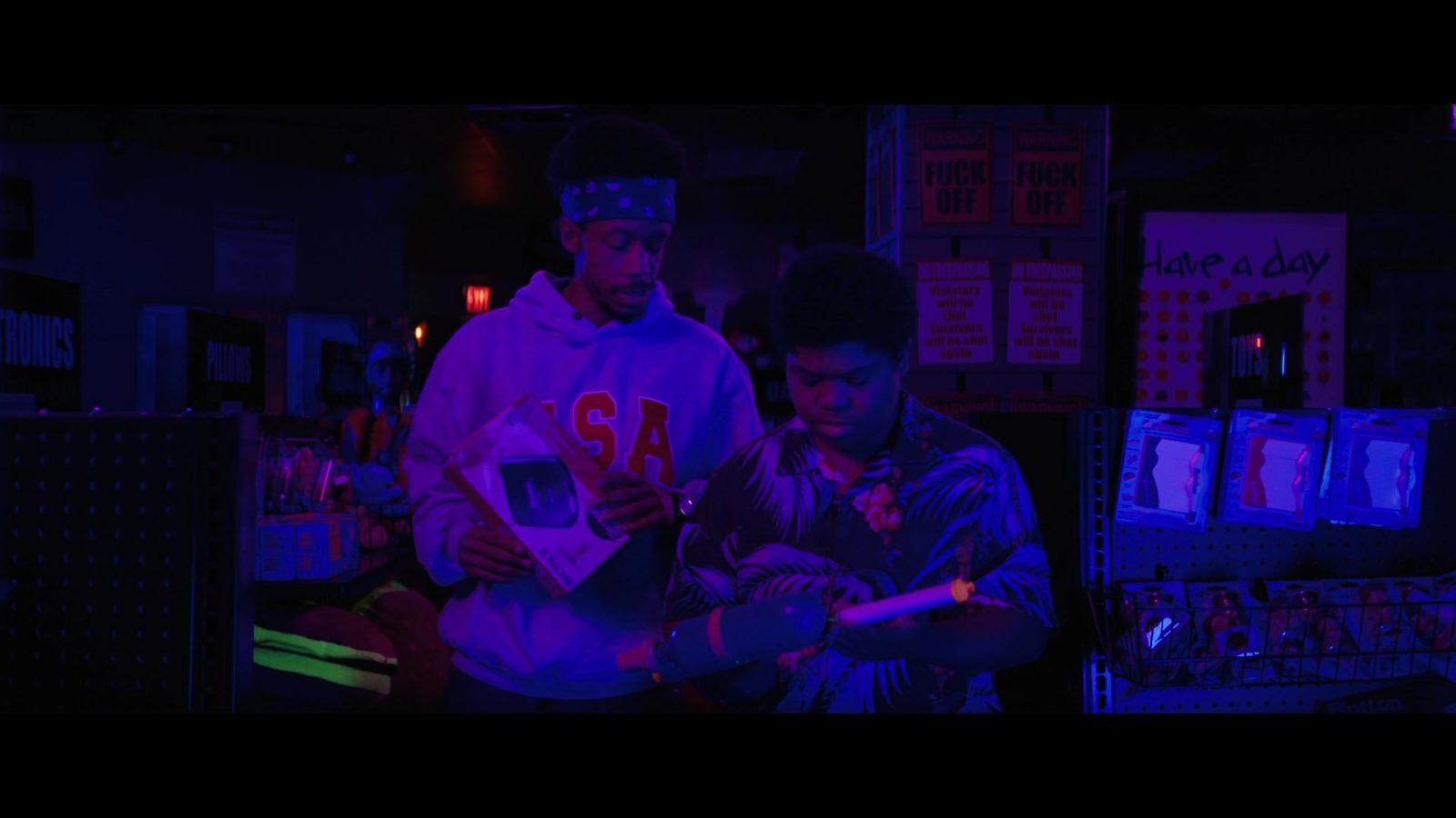 Martin e Josh em Rua do Medo: 1994
