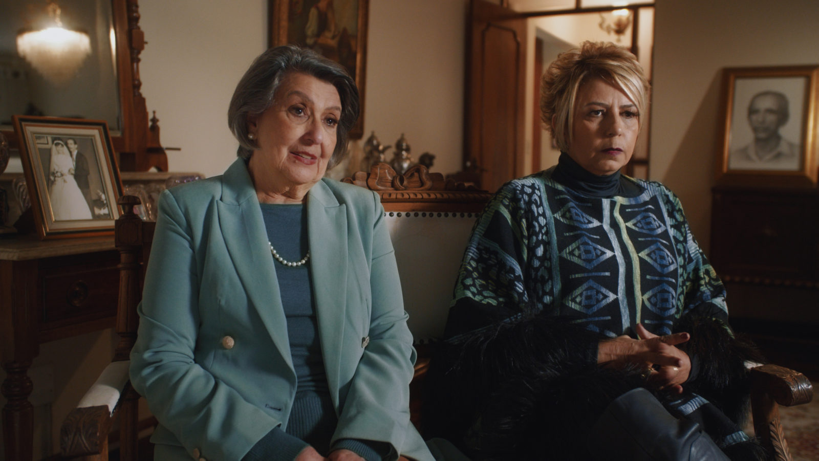 Celina e Beatriz Abagge em O Caso Evandro
