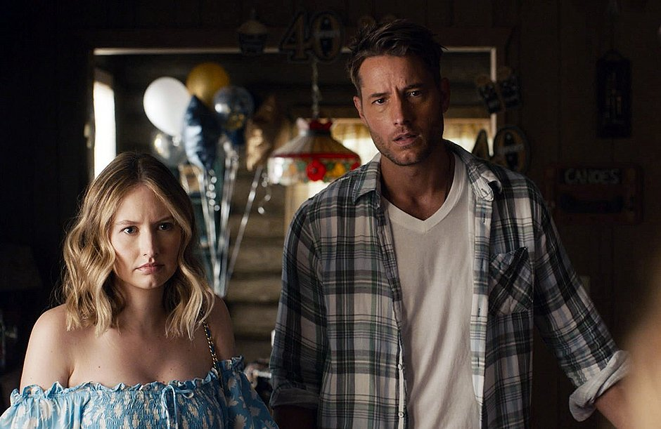 Kevin (Justin Hartley) e Madison (Caitlin Thompson) em This is Us