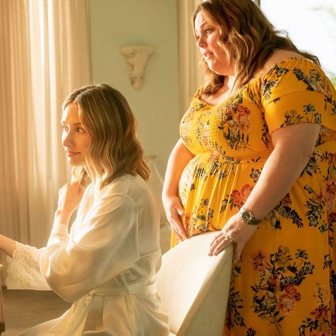 Madison (Caitlin Thompson) e Kate (Chrissy Metz) na quinta temporada da série