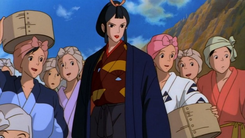 Lady Eboshi em Princesa Mononoke