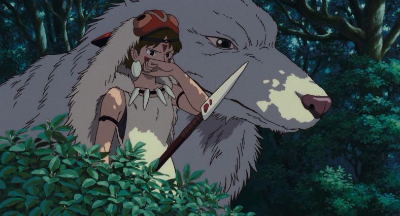 Princesa Mononoke, de Hayao Miyazaki