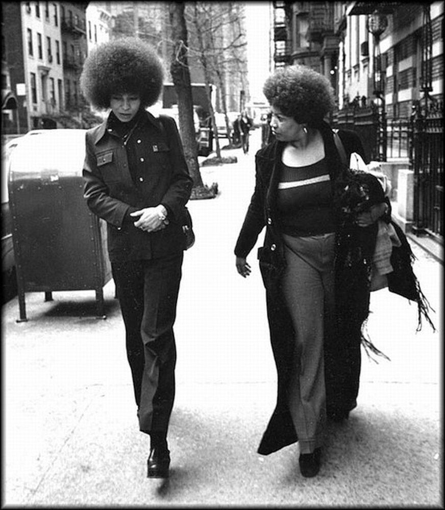 Toni Morrison e Angela Davis