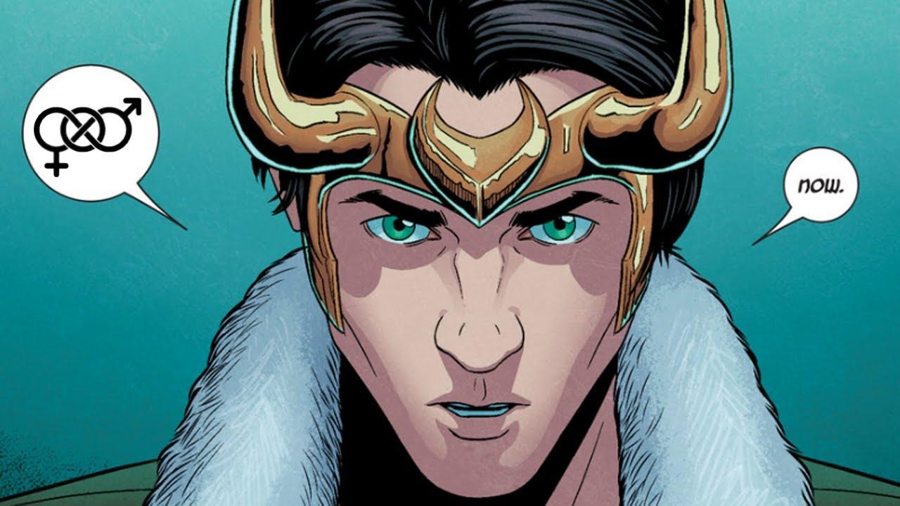 Loki é um personagem gênero-fluído nos quadrinhos