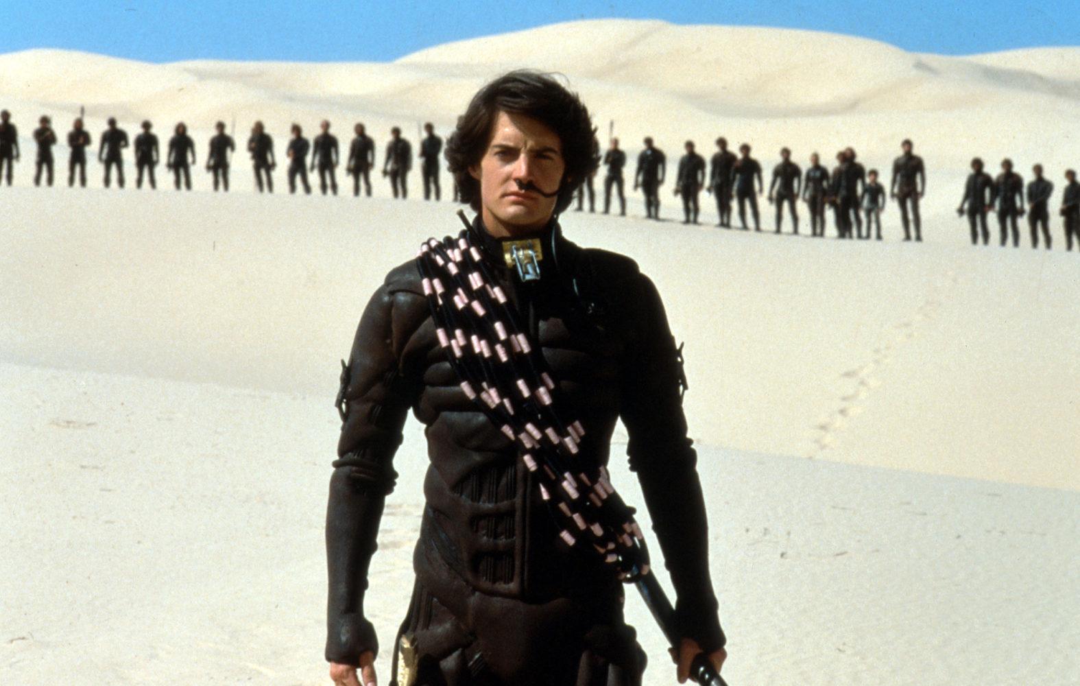 A adaptação de Duna feita por David Lynch em 1984.