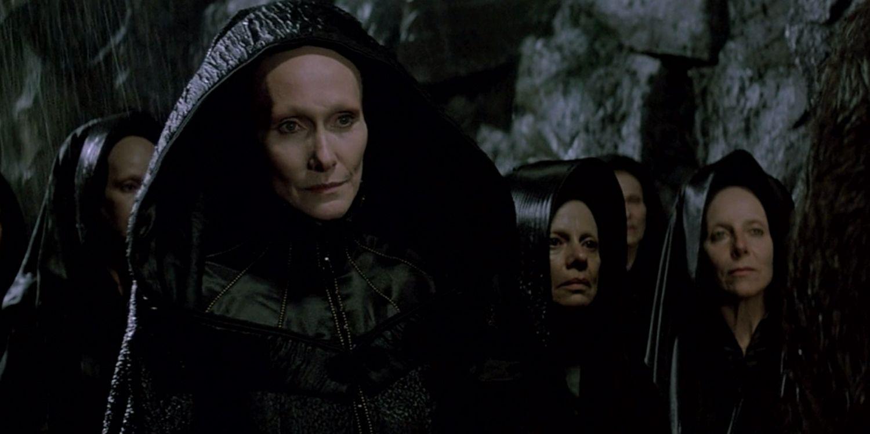 A irmandade Bene Gesserit em Duna (1984), filme de David Lynch
