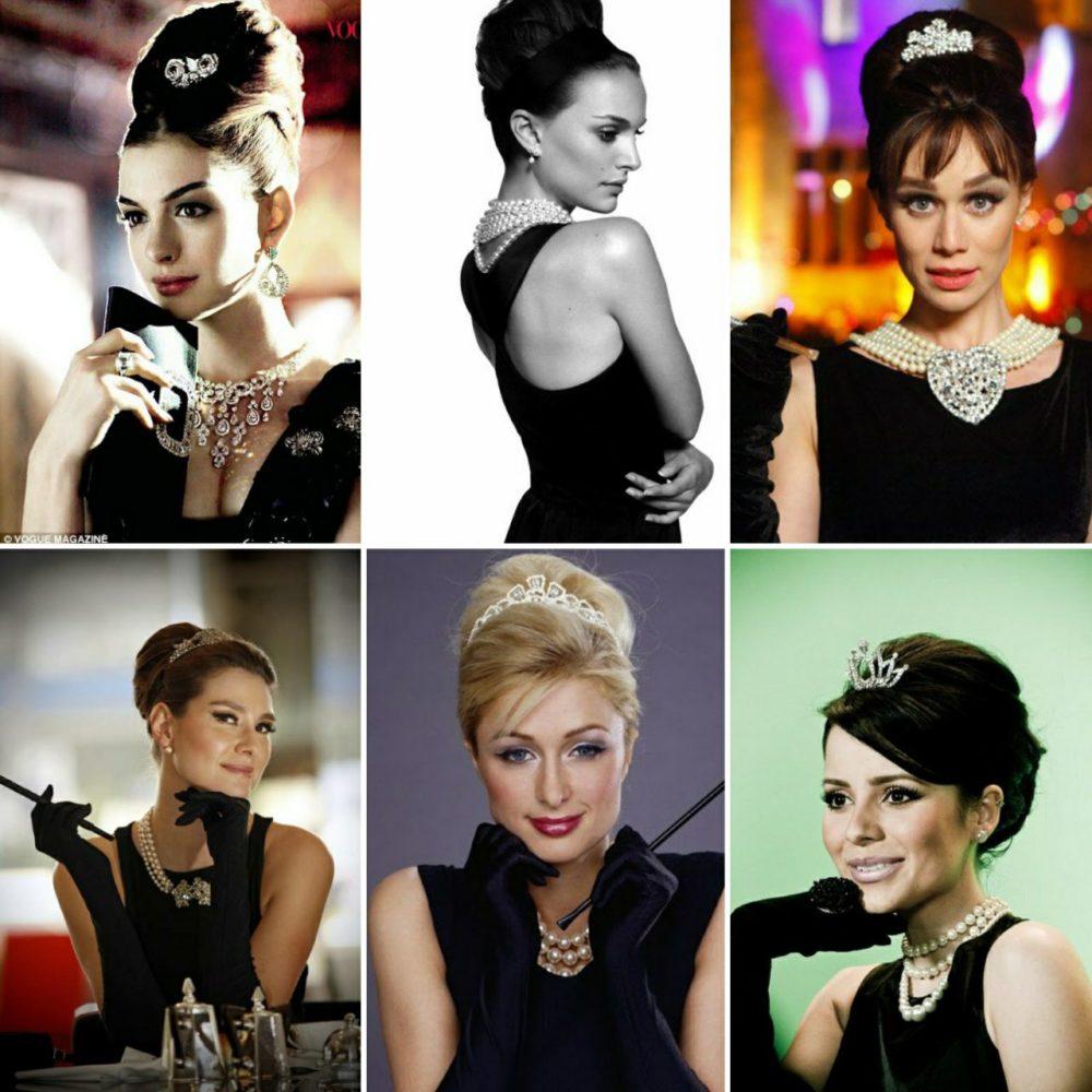 Algumas famosas que já se vestiram como Holly Golightly